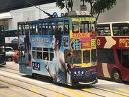 Hong Kong Tramways 86(036) to Sai Wan Ho Depot 01-05-2019
