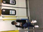 MTR South Island Line train door 18-05-2019