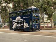 Hong Kong Tramways 95 to Kennedy Town 13-02-2021