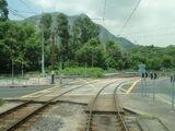 輕鐵路面交匯處