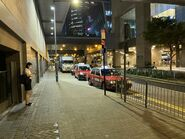 Hong Kong Station outside taxi stand 24-08-2021