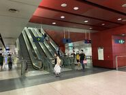 Tsuen Wan West to Exit C escalator 06-06-2020