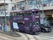 Hong Kong Tramways 64(045) to Kennedy Town 22-09-2021