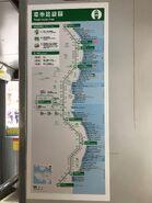 Hong Kong Tramways route map