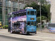 Hong Kong Tramways 40 to Whitty Street Depot 18-05-2021