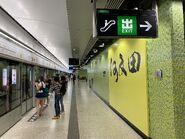 Ho Man Tin Tuen Ma Line platform 16-09-2021