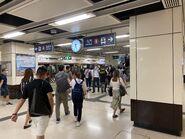 East Tsim Sha Tsui platform 29-06-2021