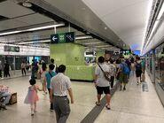 Ho Man Tin Tuen Ma Line platform 27-06-2021(3)