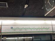 Lam Tin platform route map board 05-07-2021
