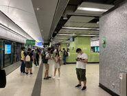 Ho Man Tin Tuen Ma Line platform 27-06-2021(7)