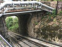 May Road Peak Tram Station track