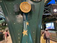 Disneyland Resort Station platform name board 01-08-2021