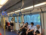 MTR Tuen Ma Line compartment 23-08-2021(2)