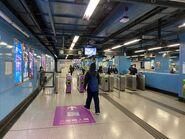 Mei Foo Tsuen Wan Line entry gate 29-01-2021