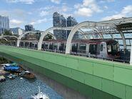 A504-A503(013) MTR South Island Line with blue sky 26-01-2020