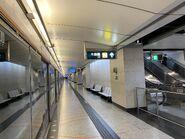 Hong Kong Station platform 13-10-2021