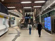 MTR University Station concourse 27-04-2021