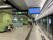 Ho Man Tin Tuen Ma Line platform 04-07-2021(1)