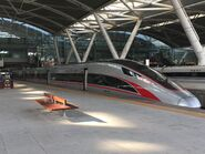 China Railway CR400AF-A-1001 G6533(Guangzhounan to Hong Kong West Kowloon) 15-07-2019
