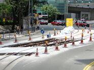 Tram rail repair 1