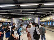 Tung Chung Station new escalator 25-07-2021