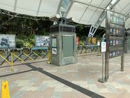 Disneyland Resort Line platform close for COVID-19(2) 10-04-2020