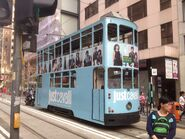Hong Kong Tramways 5(148) Happy Valley to Kennedy Town 01-04-2016