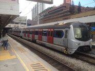 East Rail Line train copartment 101 is first car 28-11-2015