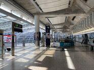 MTR Airport Station platform 07-05-2021