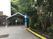 To Garden Road Station temporary platform