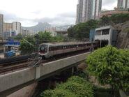 C Train Kwun Tong Line to Tiu King Leng 24-06-2015(3)