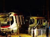 2013年灰沙圍交匯處輕鐵列車出軌事故
