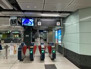 Diamond Hill Tuen Ma Line Phase 1 entry gate 12-06-2020