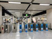 Hong Kong Station exit gate 30-04-2020