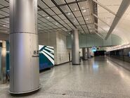 Hong Kong Station Airport Express platform 07-08-2021