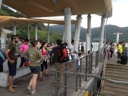 People wating for ferry in Wong Shek Ferry Pier 04-04-2015(3)