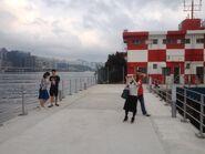 Kai Tak Public Pier with passengers