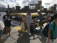 Lei Yue Mun(Sam Ka Tsuen) to Tung Lung Chau Ferry passengers alighting situation 25-06-2017(2)
