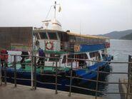 Tsui Wah 3 Tsui Wah Ferry Ma Liu Shui to Tap Mun(Wong Shek special departure) 25 03-2016(4)