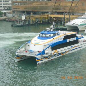 珠海高速客輪有限公司最新雙體快船海璟號.JPG