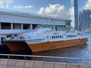 First Ferry XVIII Sun Ferry Central to Cheung Chau(with NWFF livery) 22-05-2021
