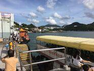 Lei Yue Mun(Sam Ka Tsuen) to Tung Lung Chau Ferry passengers alighting situation 25-06-2017(4)