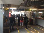 Wan Chai Ferry Pier entry gate