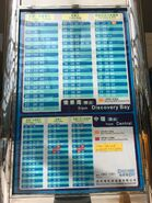 Central to Discovery Bay timetable 01-07-2018