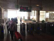 Park Island Ferry Pier entry gate for to Tsuen Wan