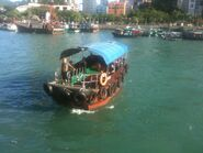 Aberdeen to Ap Lei Chau Ferry boat 1