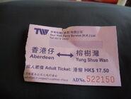 ABD YSW Ticket