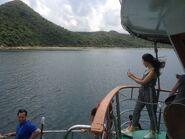 Near Sham Chung Pier sea 07-05-2016
