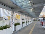 Temporary Landing Steps at King Wan Street name banner 16-05-2021