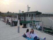 North Point to Kwun Tong ferry in Kai Tak Public Pier 2